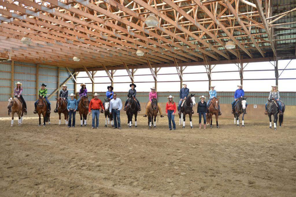 reining team